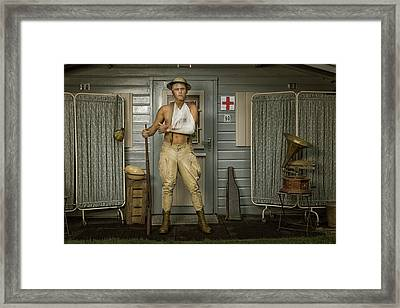 All Quiet On The Western Front-part Three Framed Print by Ronald Van Grinsven