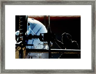 Framed Print featuring the photograph All Ready by Paul Job