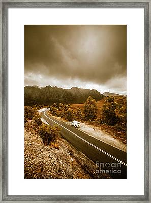 All Roads Lead To Adventure Framed Print