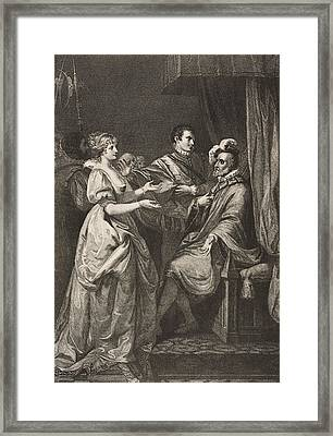 All S Well That Ends Well. Act II Framed Print