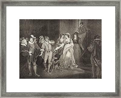 All S Well That Ends Well. Act V. Scene Framed Print