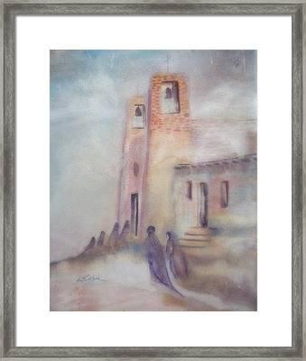 All Saints Mission Framed Print