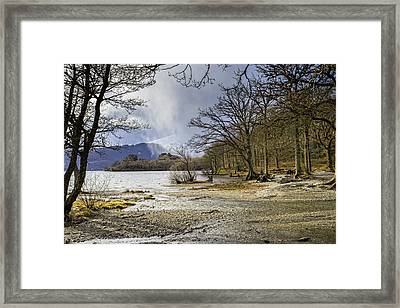 Framed Print featuring the photograph All Seasons At Loch Lomond by Jeremy Lavender Photography