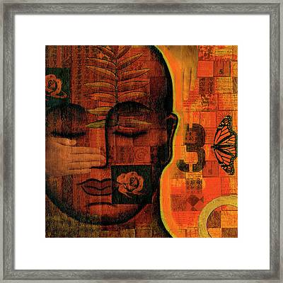 All Seeing Framed Print by Gloria Rothrock