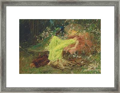 All Seemed To Sleep Framed Print by MotionAge Designs