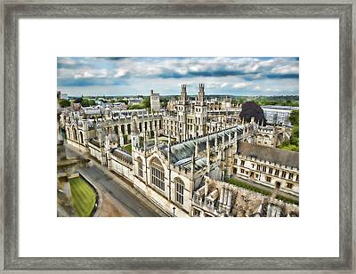 All Souls College - Oxford Framed Print