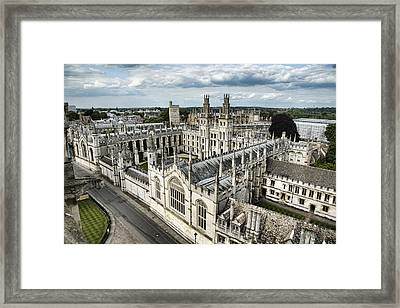 All Souls College - Oxford University Framed Print by Stephen Stookey