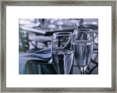 All Sparkling Blue Framed Print by JAMART Photography
