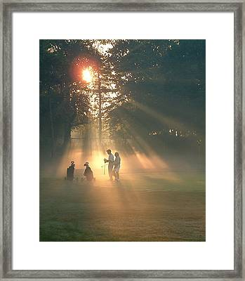 All Square Framed Print by Edwin Voorhees
