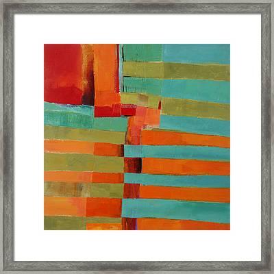 All Stripes 2 Framed Print by Jane Davies