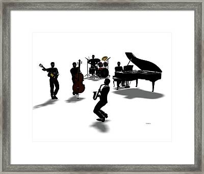 All That Framed Print by Daniel Bauer
