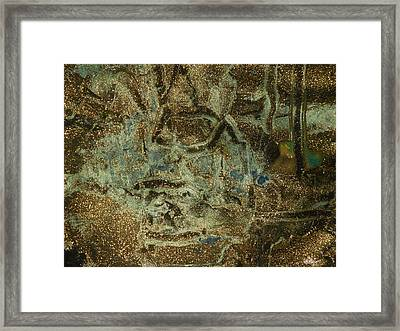 All That Glitters Framed Print by Karen Lillard