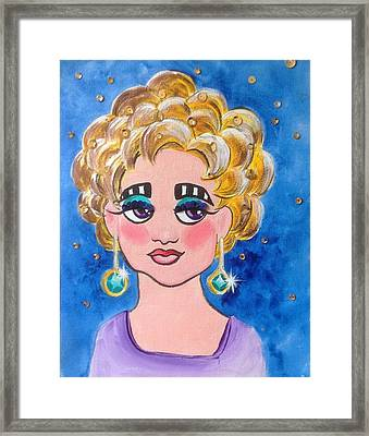 All That Glitters Framed Print by Marilyn Jacobson