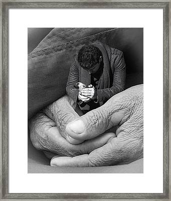 All That Is Precious Framed Print