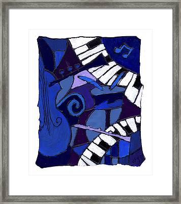 All That Jazz 3 Framed Print
