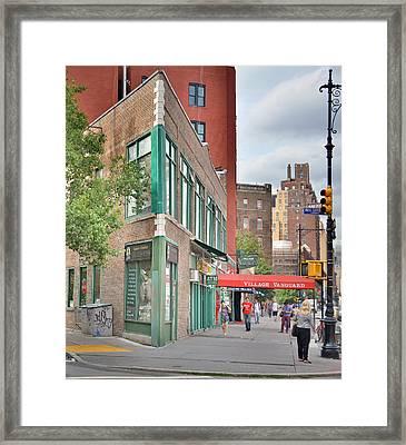 All That Jazz - Greenwich Village Vangaurd  Framed Print