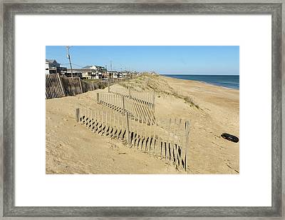 All That Sand Framed Print