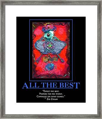 All The Best Framed Print