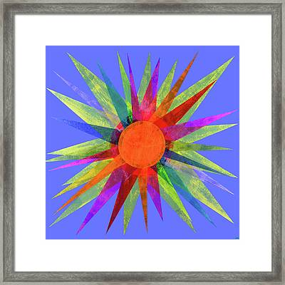 All The Colors In The Sun Framed Print