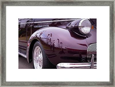 Framed Print featuring the photograph All The Curves by Lora Lee Chapman