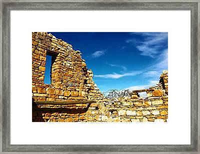 All The Mysteries Framed Print