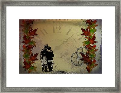 All The Time In The World Framed Print by Bill Cannon