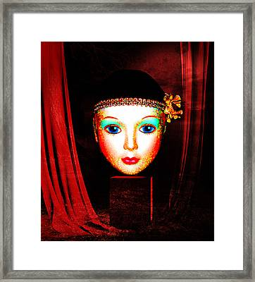 All The Wolrd's A Stage Framed Print by Tammera Malicki-Wong