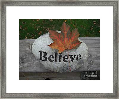 All Things Are Posssible Framed Print by Deborah Finley