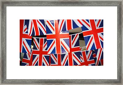 Framed Print featuring the photograph All Things British by Digital Art Cafe