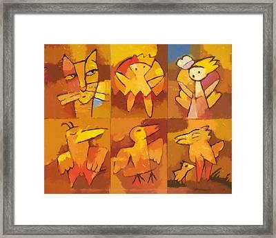 All Together Framed Print