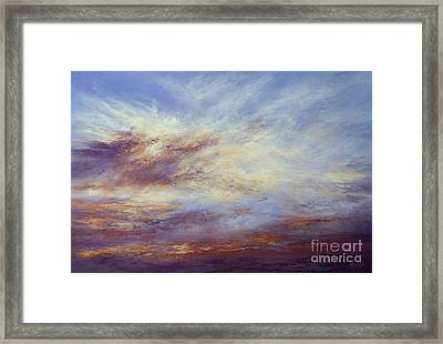 All Too Soon Framed Print