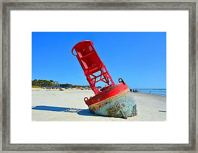 All Washed Up Framed Print