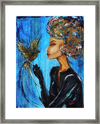 All You Need Is Love Framed Print by Linda Clayton