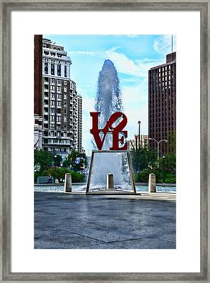 All You Need Is Love Framed Print by Paul Ward