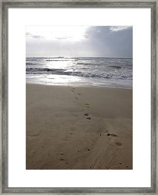 Framed Print featuring the photograph Alle Vers L'ocean by Marc Philippe Joly