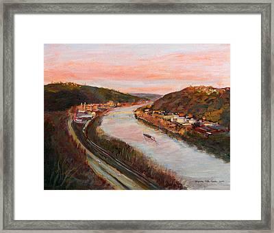 Allegheny Valley Framed Print