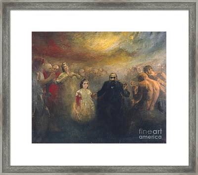 Allegory Of Doctor Robert Framed Print by Celestial Images