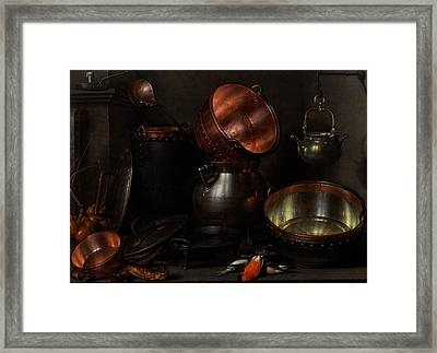 Allegory Of The Four Elements Framed Print