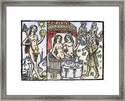 Allegory Of Venus, 1496 Framed Print by Granger