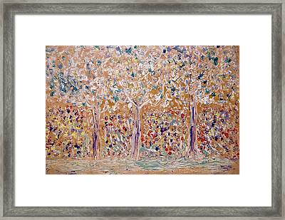 Allegory  Painting Framed Print by Don  Wright