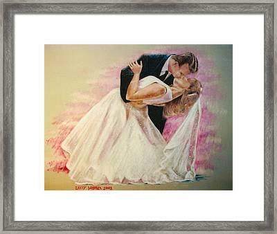Allen And Trish Framed Print
