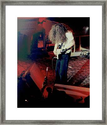 Framed Print featuring the photograph A C Winterland Bong 2 by Ben Upham