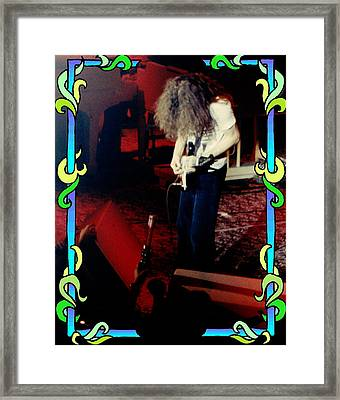 Framed Print featuring the photograph A C Winterland Bong 3 by Ben Upham