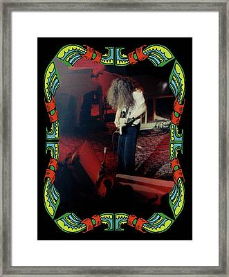 Framed Print featuring the photograph A C Winterland Bong 5 by Ben Upham