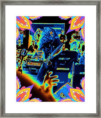 Framed Print featuring the photograph Allen Cosmic Free Bird Oakland 1 by Ben Upham