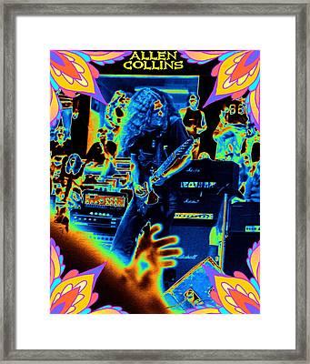 Framed Print featuring the photograph Allen Cosmic Free Bird Oakland 2 by Ben Upham