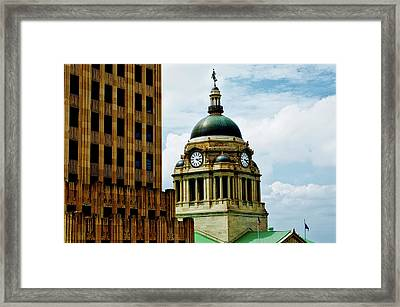 Allen County Courthouse - Fort Wayne Indiana Framed Print by Mountain Dreams