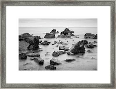 Framed Print featuring the photograph Allens Pond Xiv Bw by David Gordon