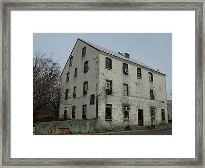 Allentown Gristmill Framed Print