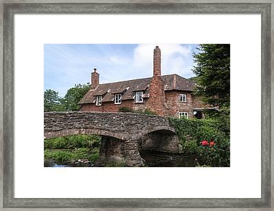 Allerford - England Framed Print by Joana Kruse